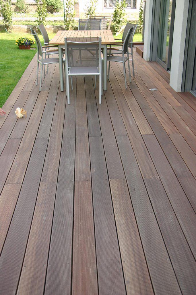 Listoni legno esterno il pavimento in legno di rovere eko - Listoni legno per esterno prezzi ...